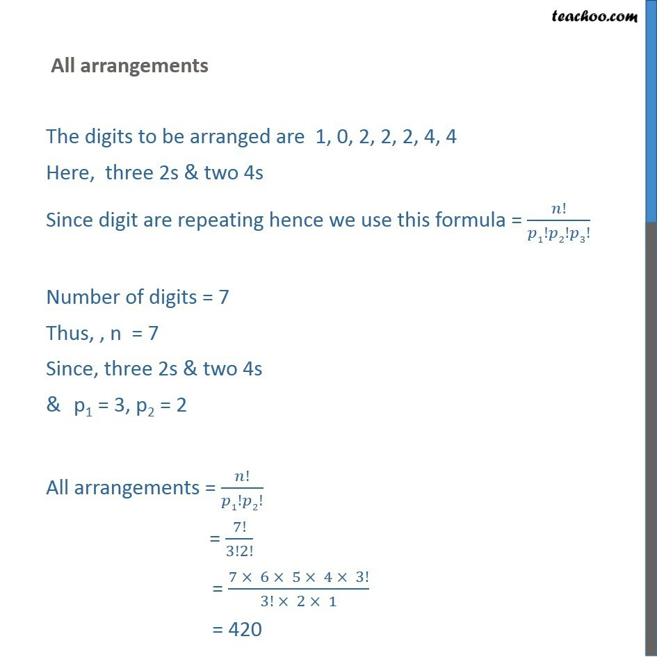 Example 23 - Chapter 7 Class 11 Permutations and Combinations - Part 14