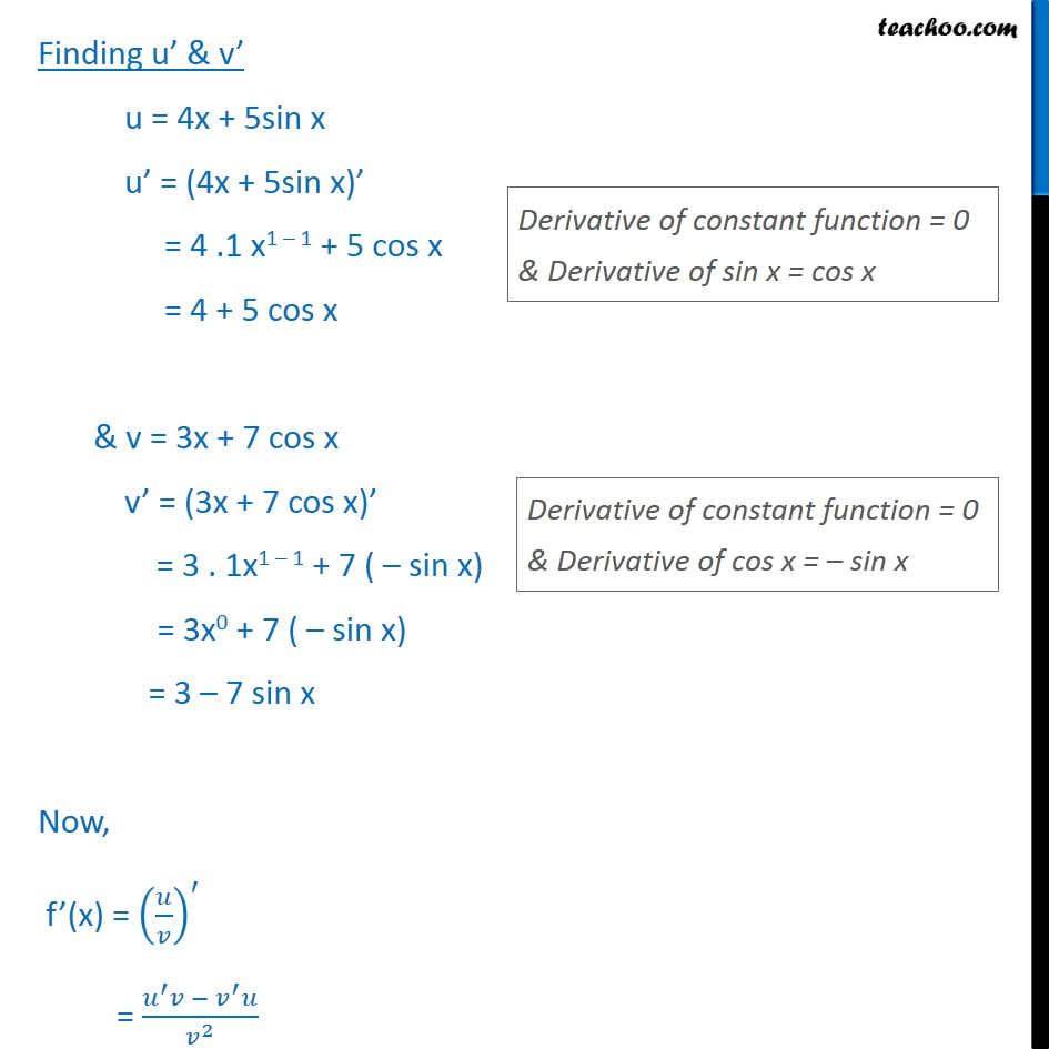 Misc 26 - Chapter 13 Class 11 Limits and Derivatives - Part 2