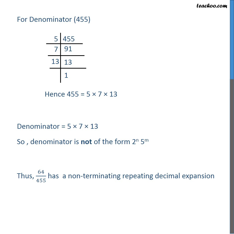 Ex 1.4, 1 - Chapter 1 Class 10 Real Numbers - Part 6