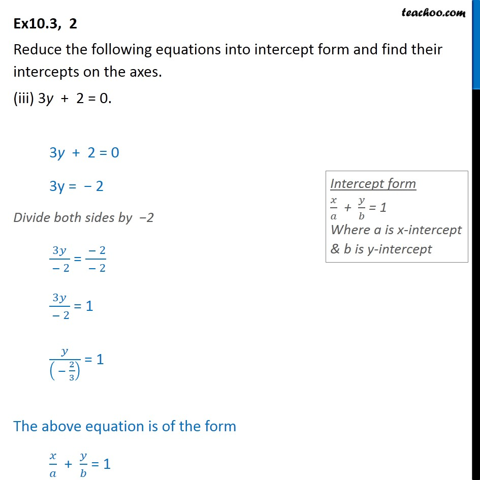 Ex 10.3, 2 - Chapter 10 Class 11 Straight Lines - Part 5