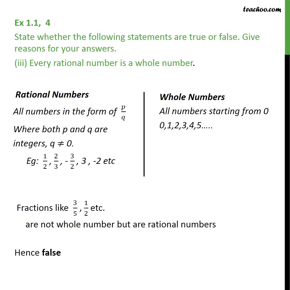 Ex 1.1,4 - Chapter 1 Class 9 Number Systems - Part 3