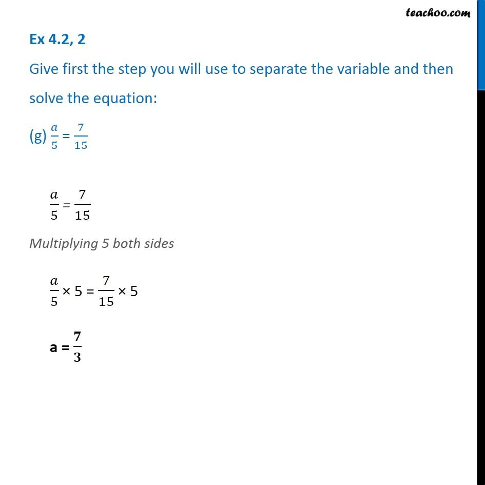 Ex 4.2, 2 - Chapter 4 Class 7 Simple Equations - Part 7