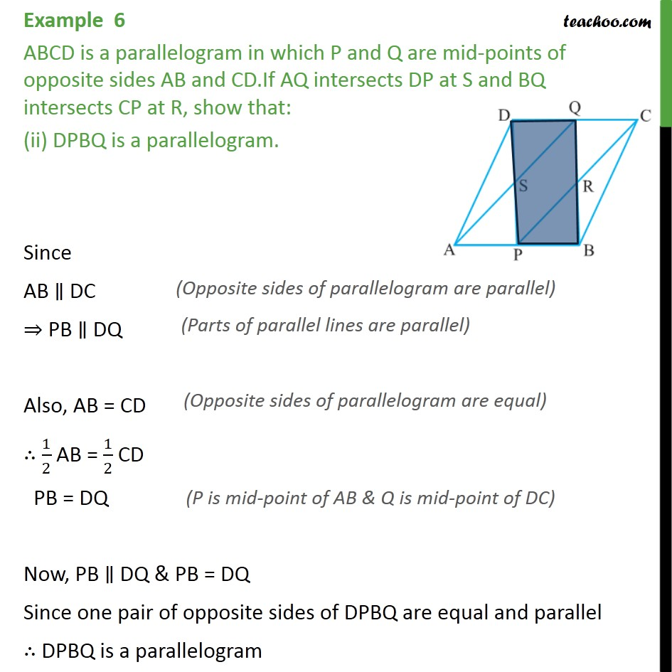 Example 6 - Chapter 8 Class 9 Quadrilaterals - Part 3
