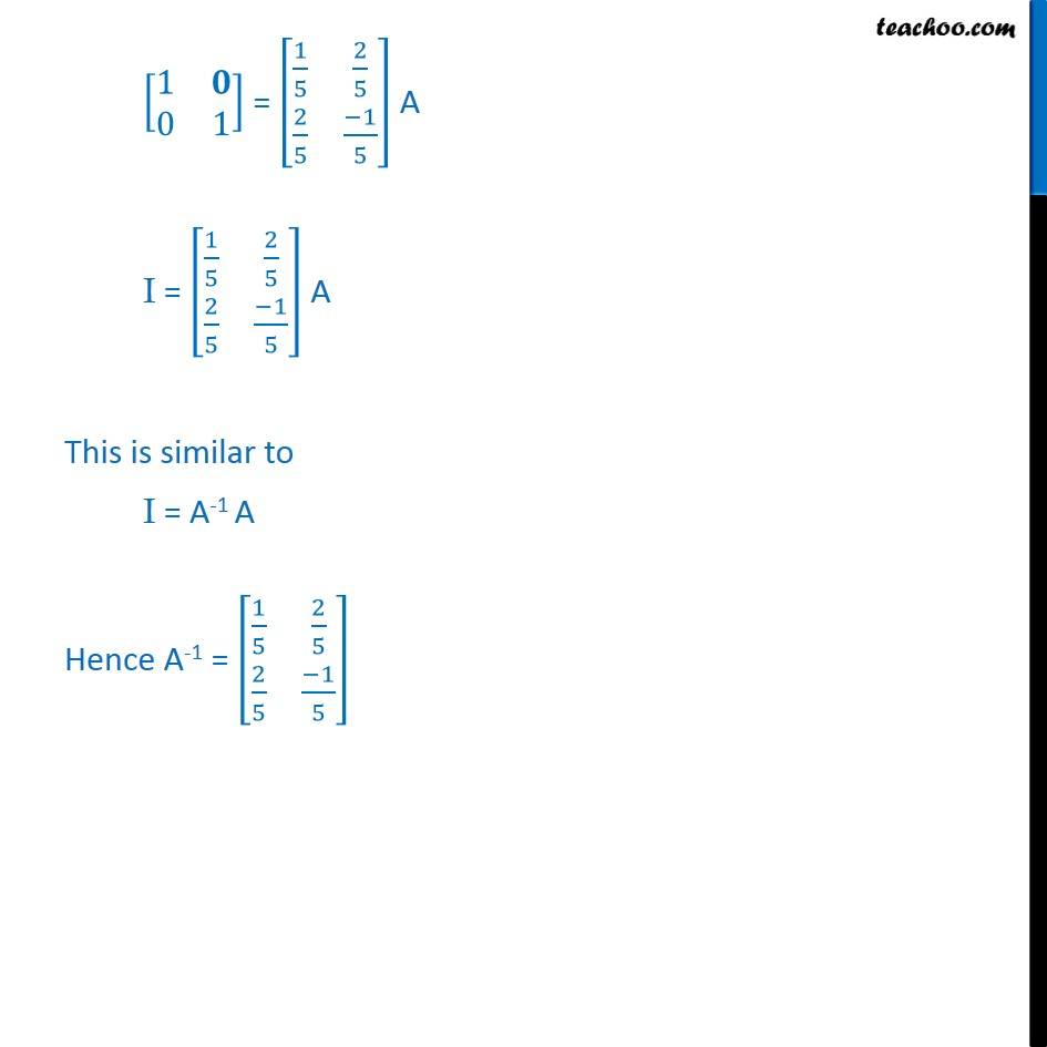 Example 23 - Chapter 3 Class 12 Matrices - Part 3