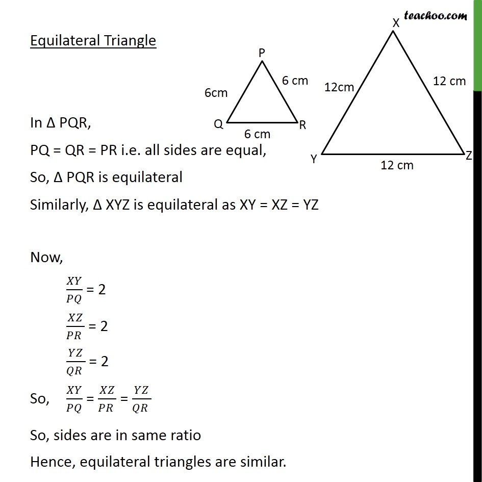 Ex 6.1, 1 - Chapter 6 Class 10 Triangles - Part 4