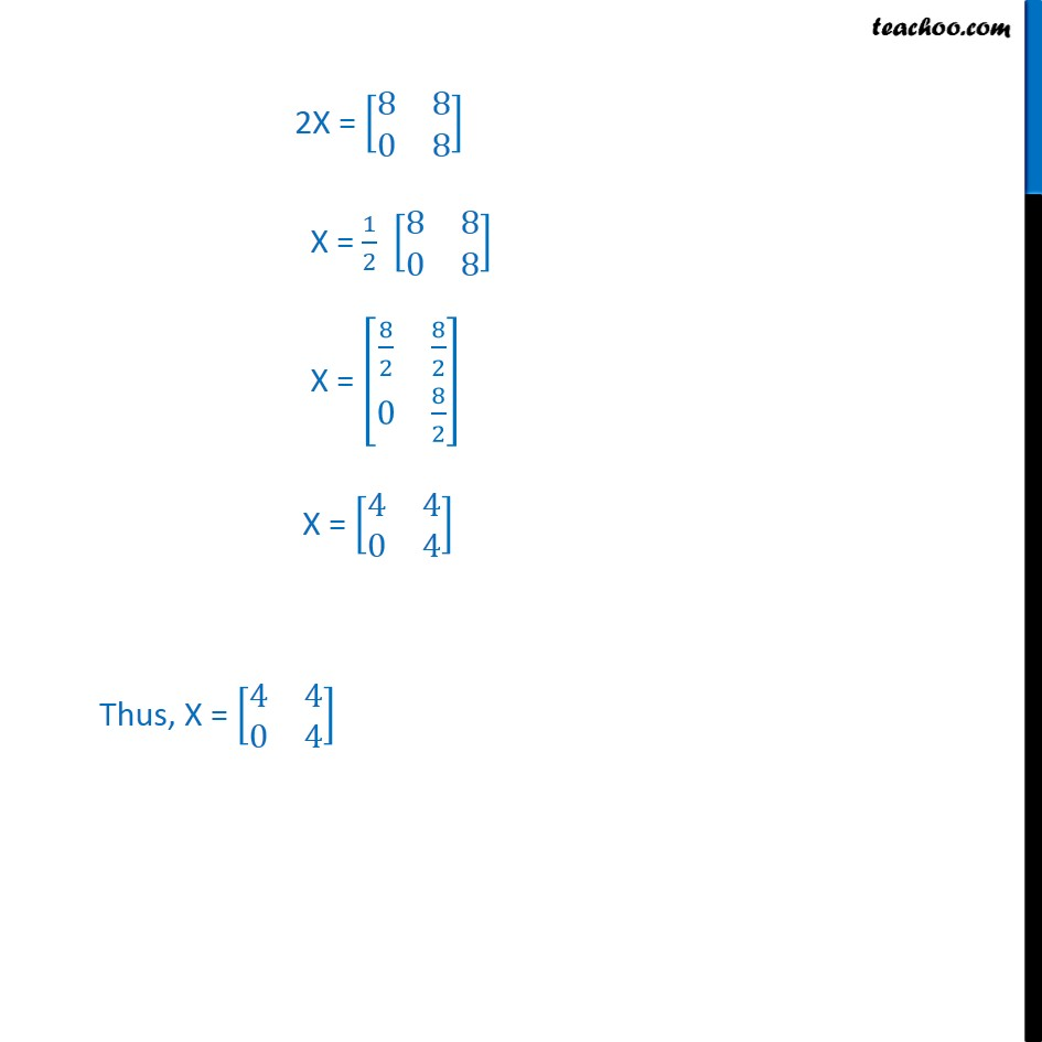 Example 9 - Chapter 3 Class 12 Matrices - Part 2