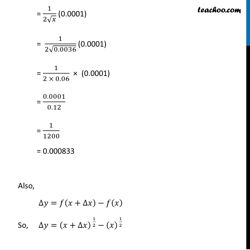 Ex 6.4, 1 (xi) - Chapter 6 Class 12 Application of Derivatives - Part 2