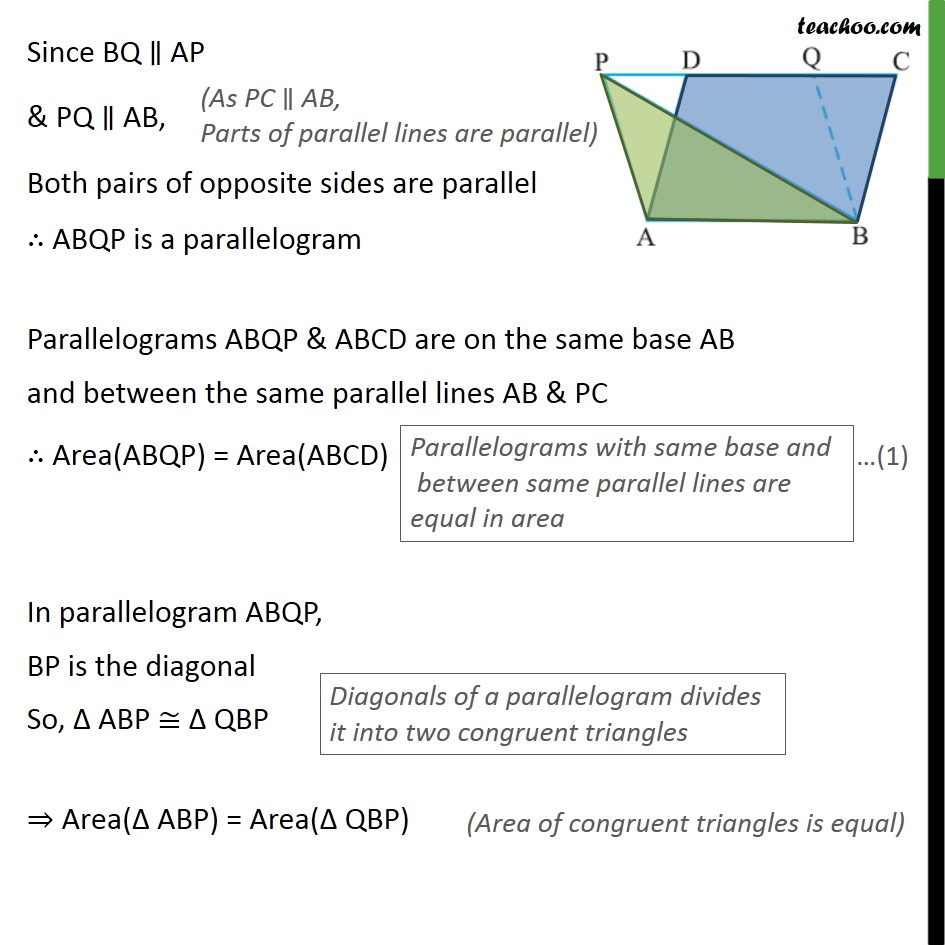 Example 2 - Chapter 9 Class 9 Areas of Parallelograms and Triangles - Part 5