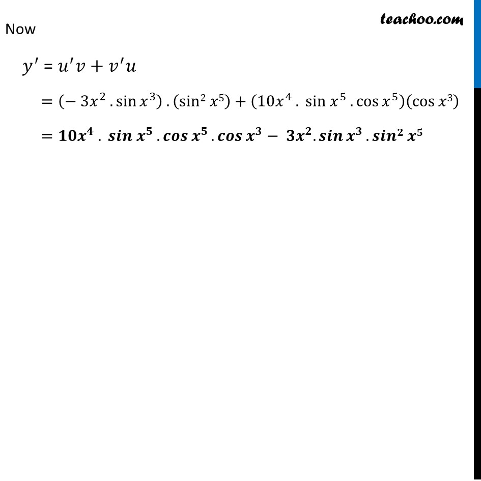 Ex 5.2, 6 - Chapter 5 Class 12 Continuity and Differentiability - Part 3