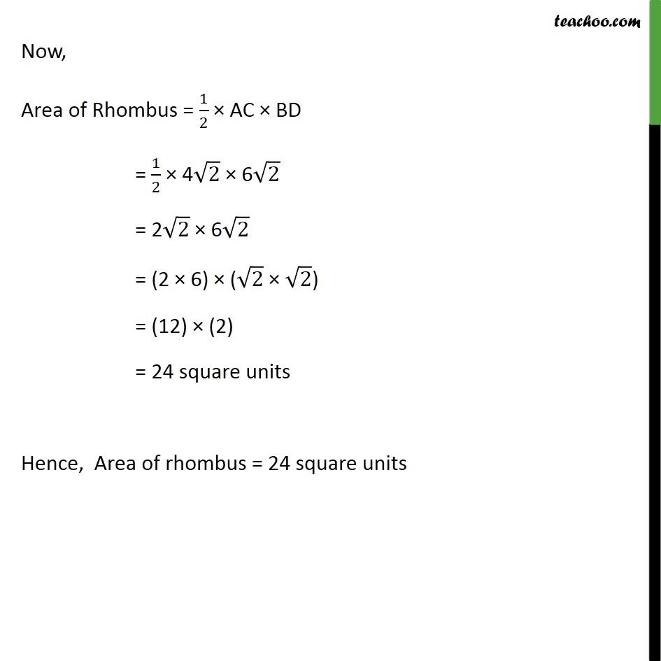 Ex 7.2, 10 - Chapter 7 Class 10 Coordinate Geometry - Part 4