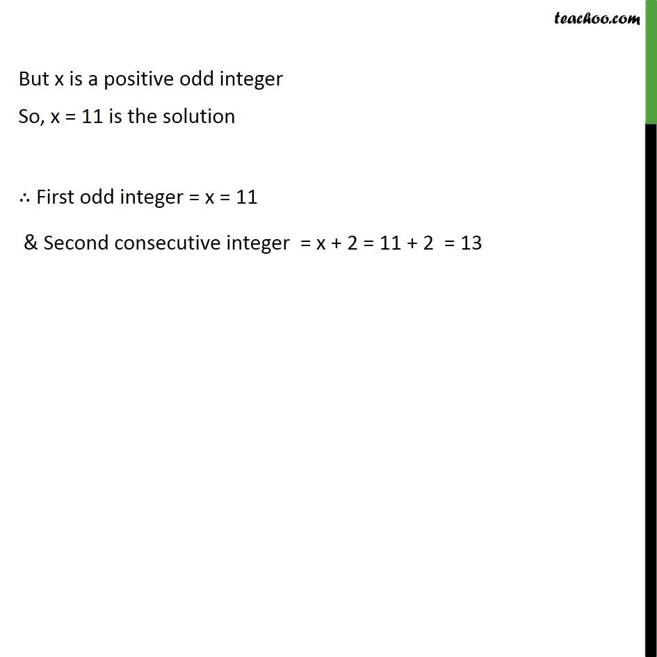Example 11 - Chapter 4 Class 10 Quadratic Equations - Part 4