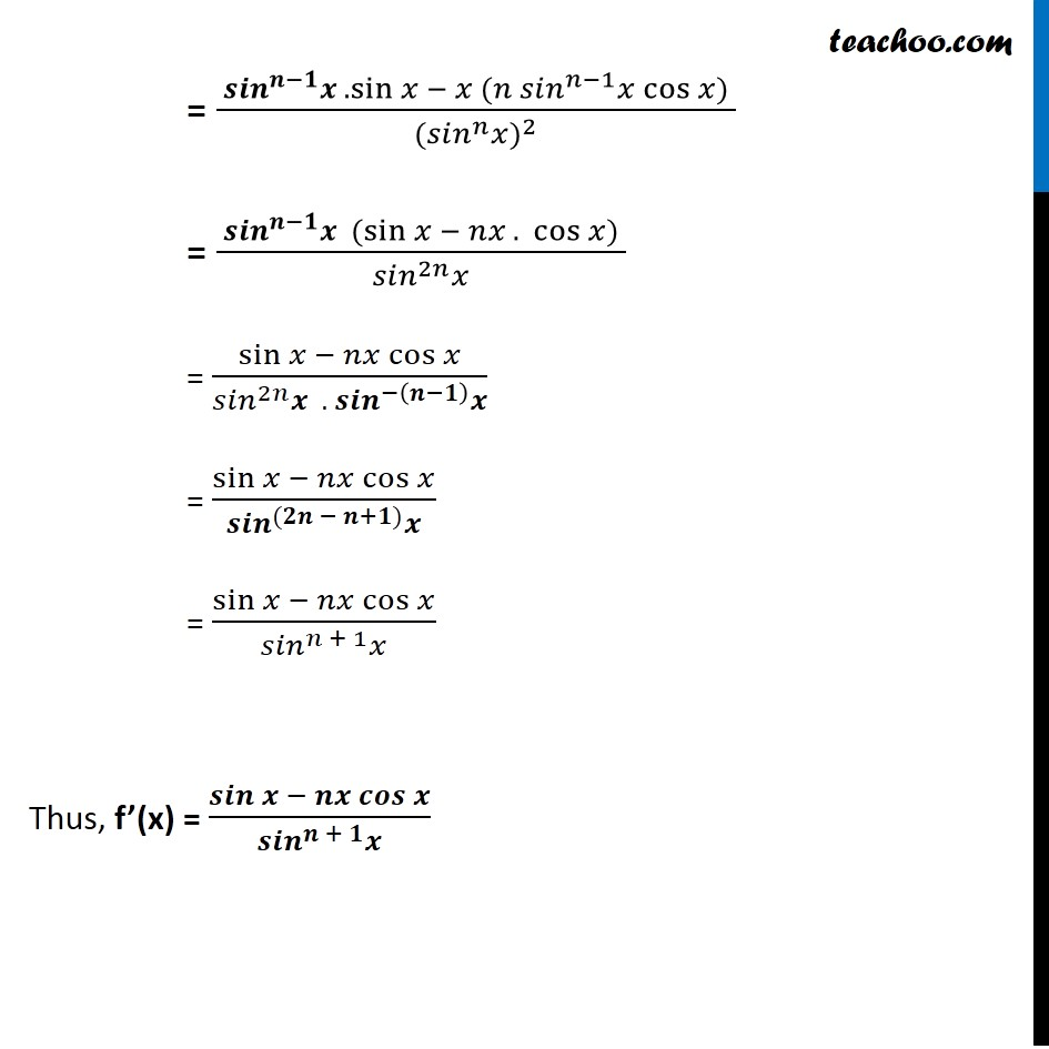 Misc 30 - Chapter 13 Class 11 Limits and Derivatives - Part 4
