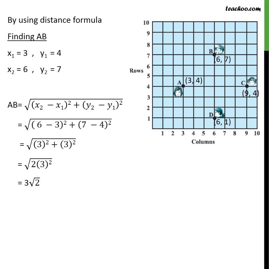 Ex 7.1, 5 - Chapter 7 Class 10 Coordinate Geometry - Part 2