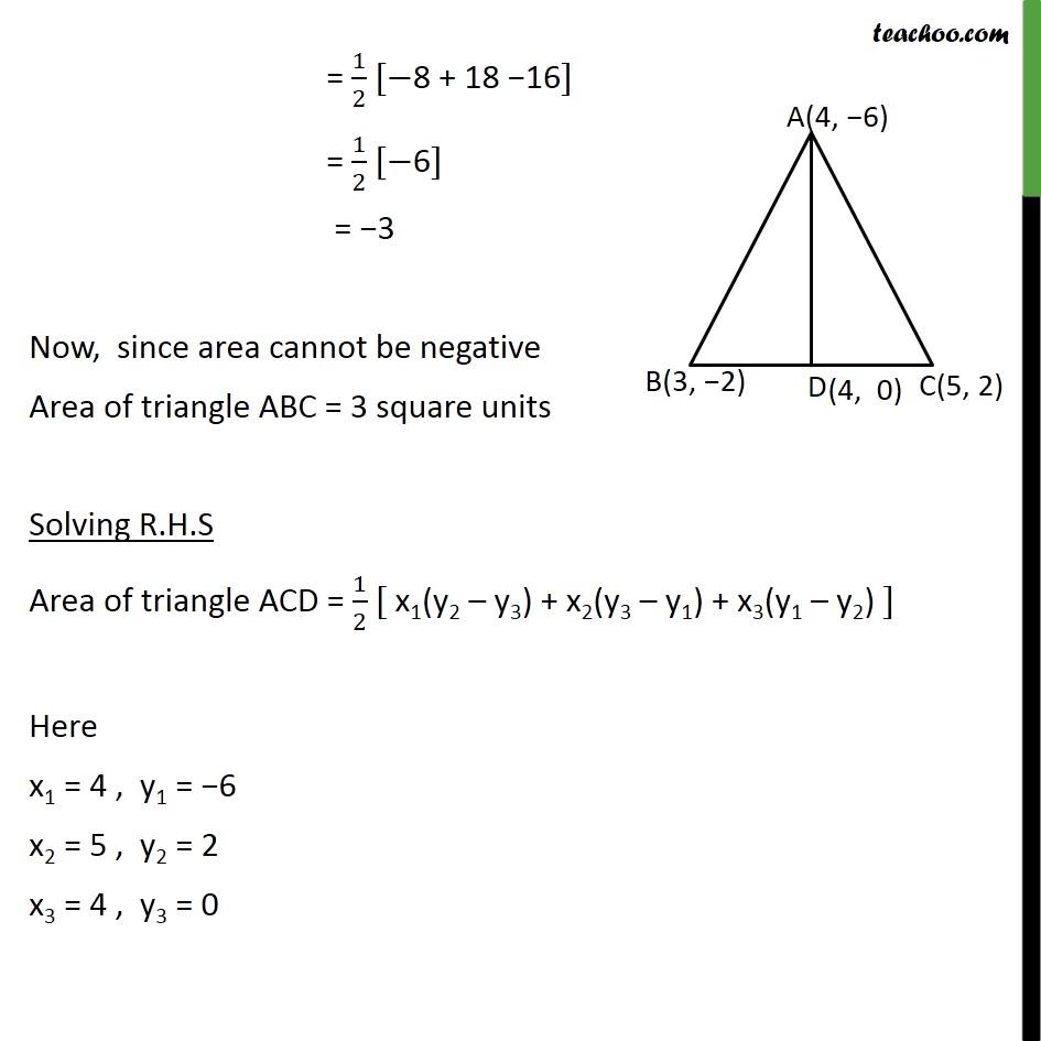 Ex 7.3, 5 - Chapter 7 Class 10 Coordinate Geometry - Part 3