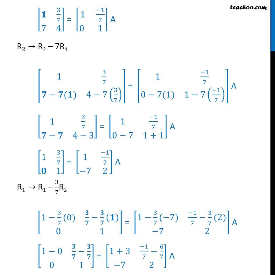 Ex 3.4, 5 - Chapter 3 Class 12 Matrices - Part 2