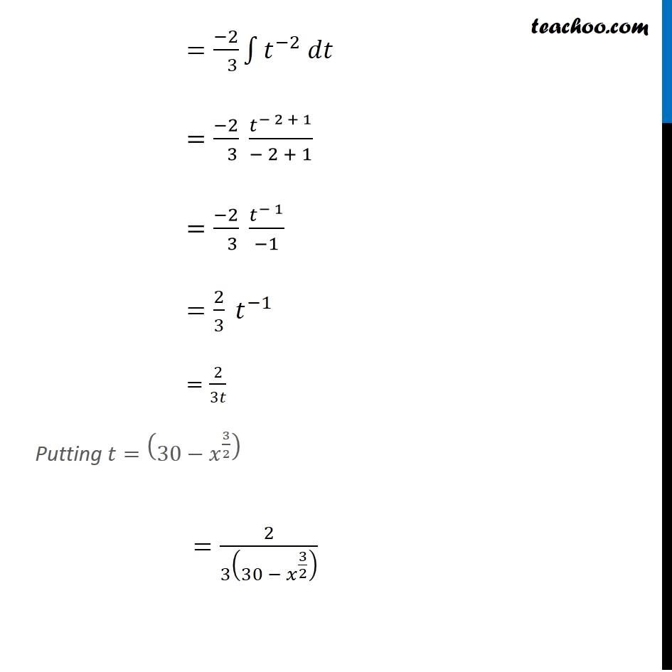 Example 27 - Chapter 7 Class 12 Integrals - Part 4