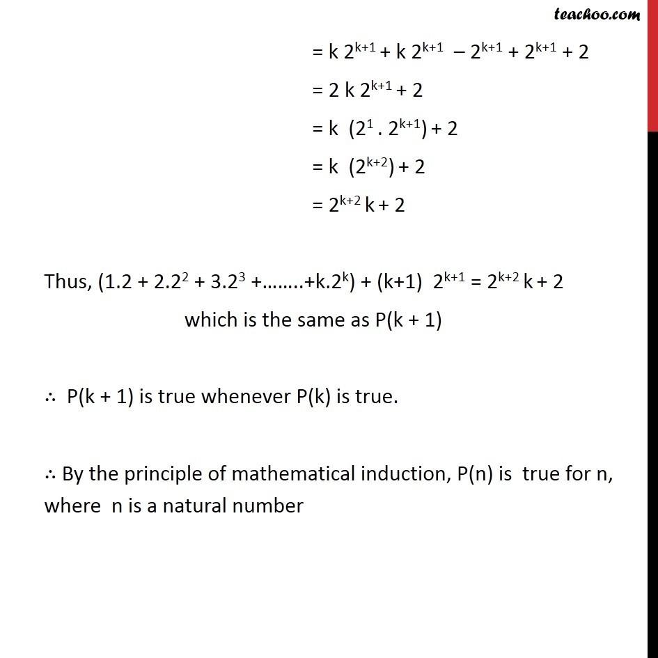 Ex 4.1, 8 - Chapter 4 Class 11 Mathematical Induction - Part 3