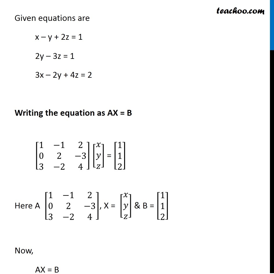 Example 33 - Chapter 4 Class 12 Determinants - Part 3