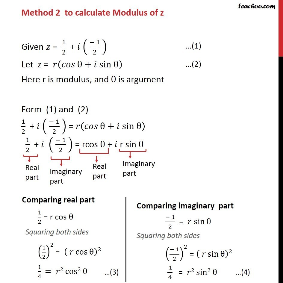 Example 13  - Chapter 5 Class 11 Complex Numbers - Part 12