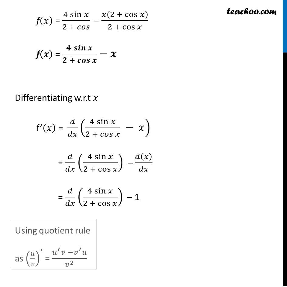 Misc 6 - Chapter 6 Class 12 Application of Derivatives - Part 2
