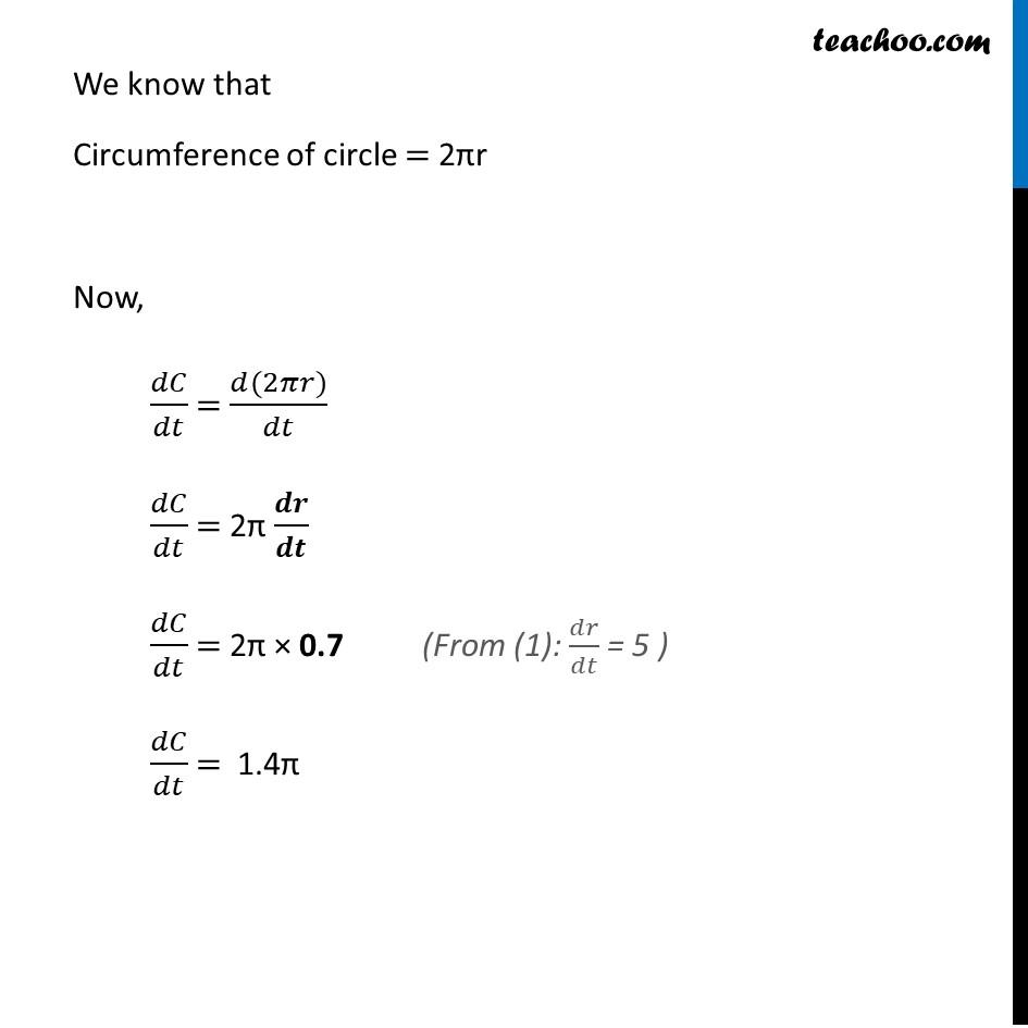 Ex 6.1,6 - Chapter 6 Class 12 Application of Derivatives - Part 2