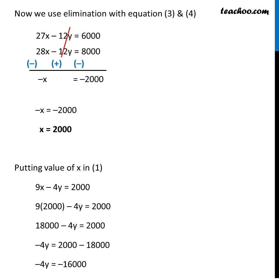 Example 11 - Chapter 3 Class 10 Pair of Linear Equations in Two Variables - Part 4