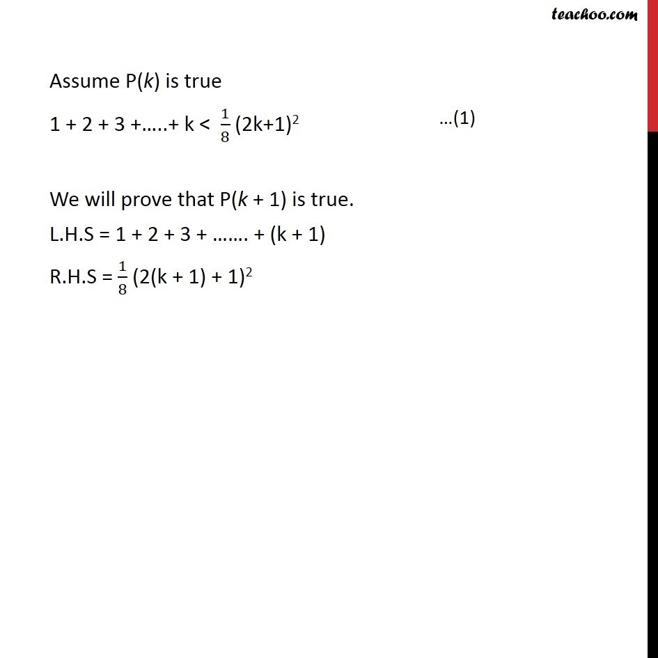 Ex 4.1, 18 - Chapter 4 Class 11 Mathematical Induction - Part 2