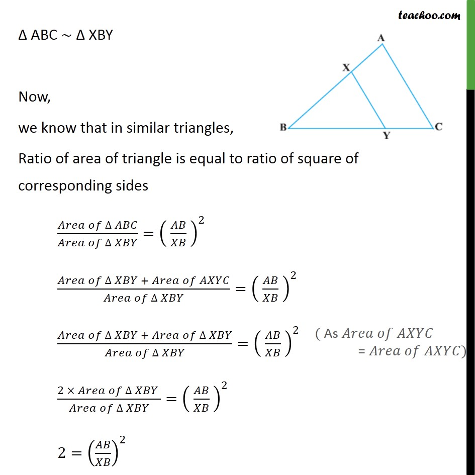 Example 9 - Chapter 6 Class 10 Triangles - Part 2