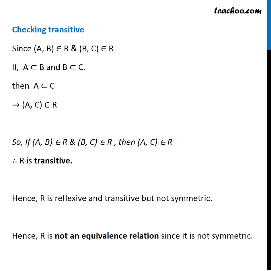 Misc. 8 - Chapter 1 Class 12 Relation and Functions - Part 4