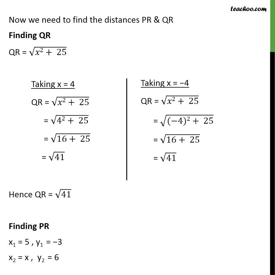 Ex 7.1, 9 - Chapter 7 Class 10 Coordinate Geometry - Part 4