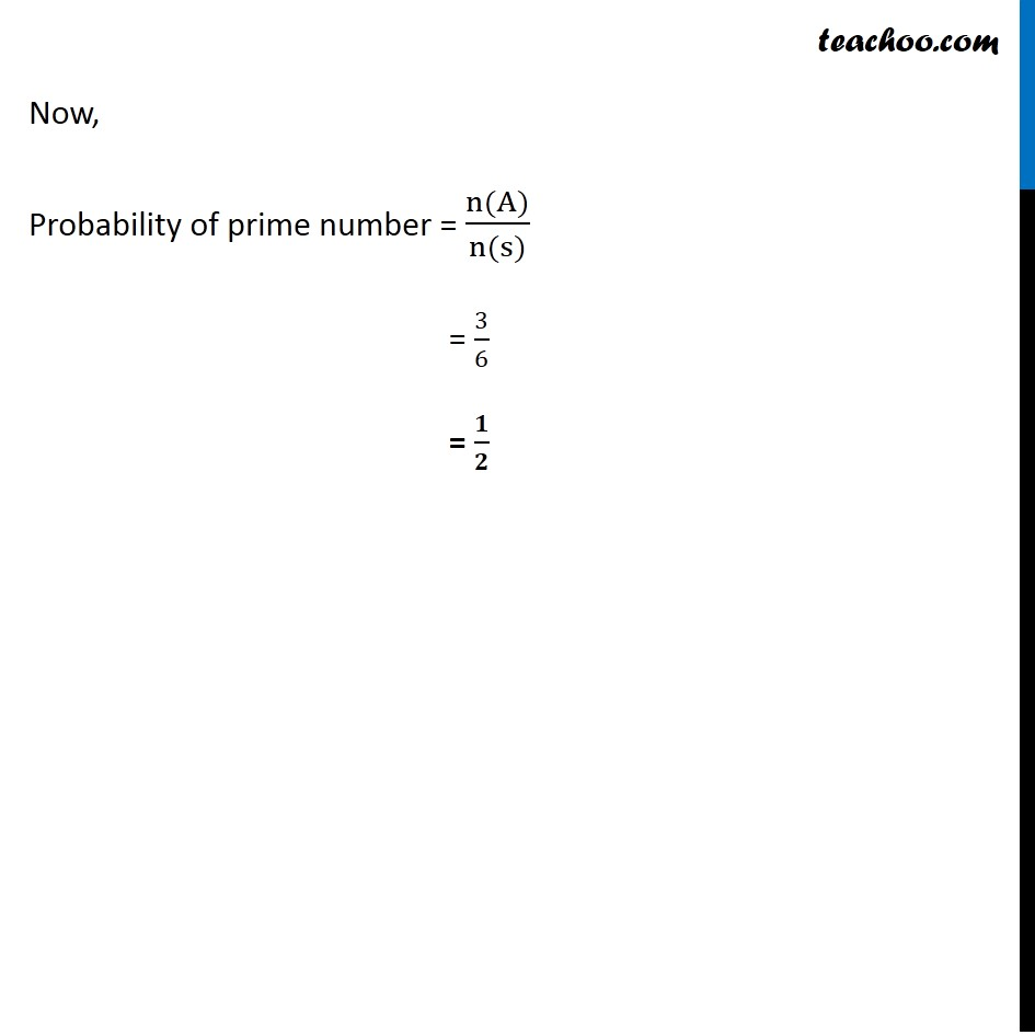 Ex 16.3, 3 - Chapter 16 Class 11 Probability - Part 2