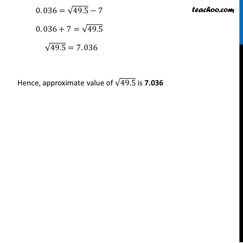 Ex 6.4, 1 (ii) - Chapter 6 Class 12 Application of Derivatives - Part 3