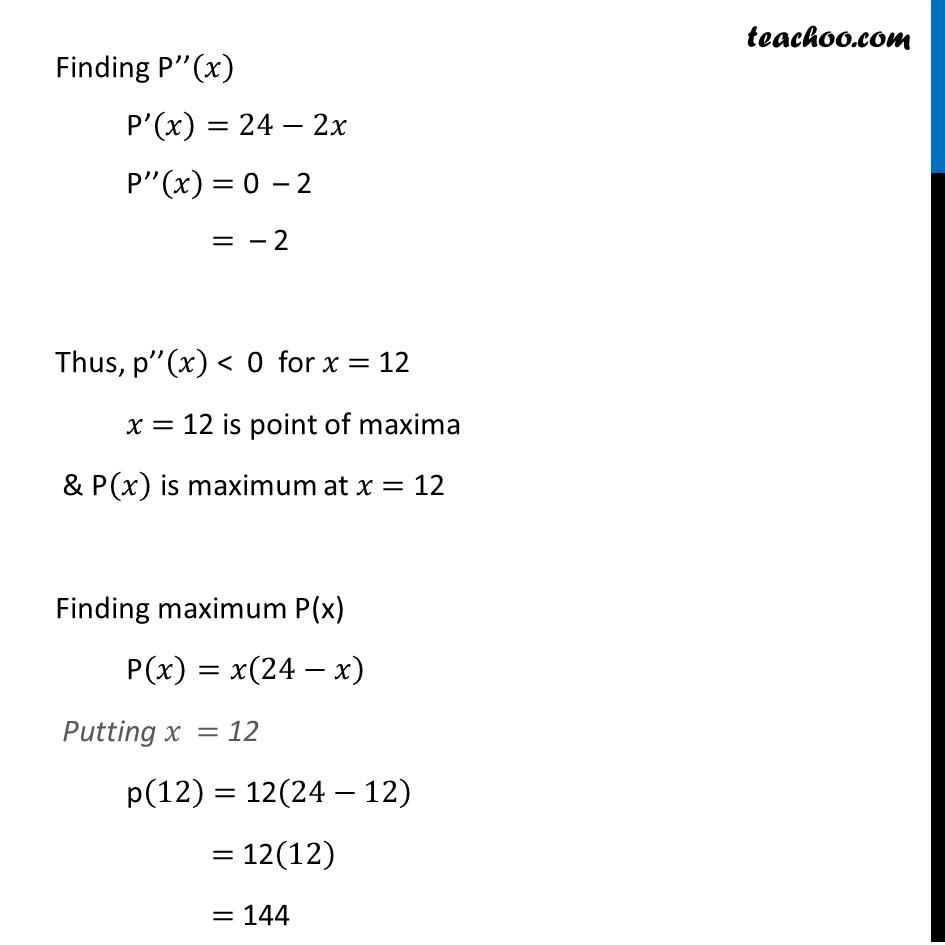 Ex 6.5,13 - Chapter 6 Class 12 Application of Derivatives - Part 3