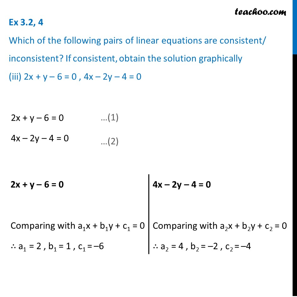 Ex 3.2, 4 - Chapter 3 Class 10 Pair of Linear Equations in Two Variables - Part 8