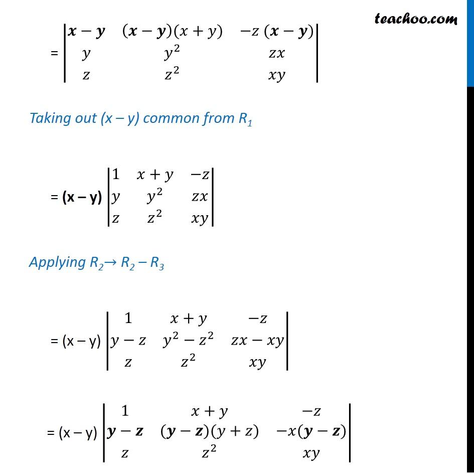 Ex 4.2, 9 - Chapter 4 Class 12 Determinants - Part 2