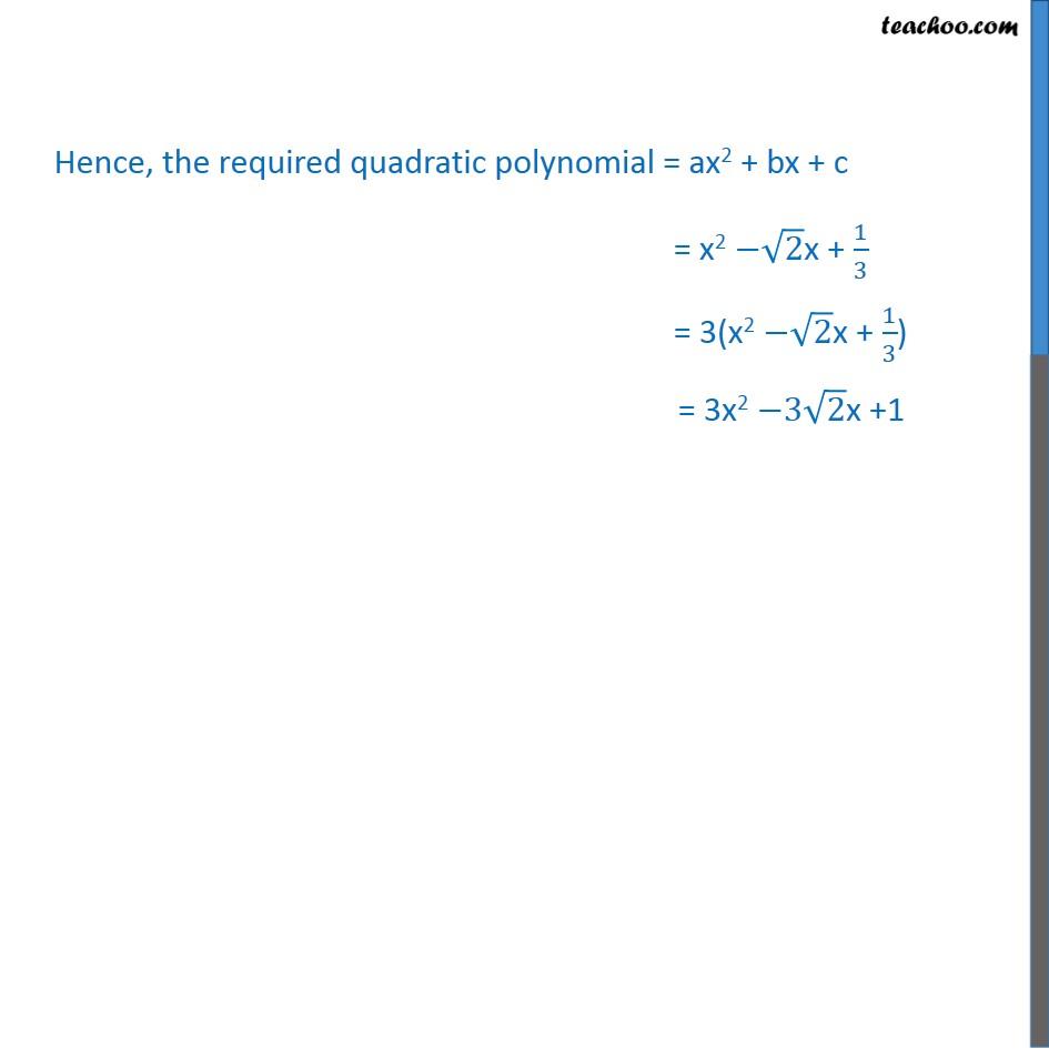 Ex 2.2, 2 - Chapter 2 Class 10 Polynomials - Part 4