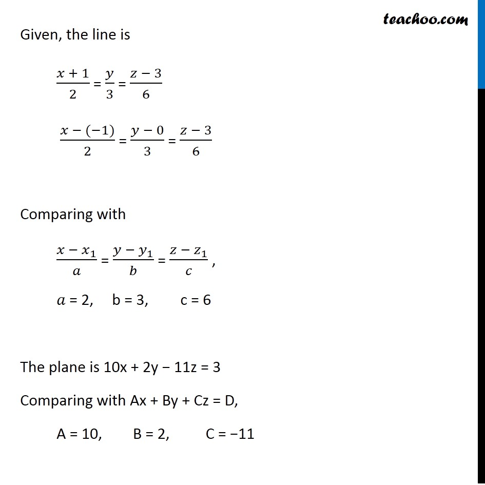 Example, 25 - Chapter 11 Class 12 Three Dimensional Geometry - Part 2
