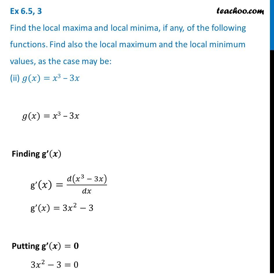 Ex 6.5,3 - Chapter 6 Class 12 Application of Derivatives - Part 3