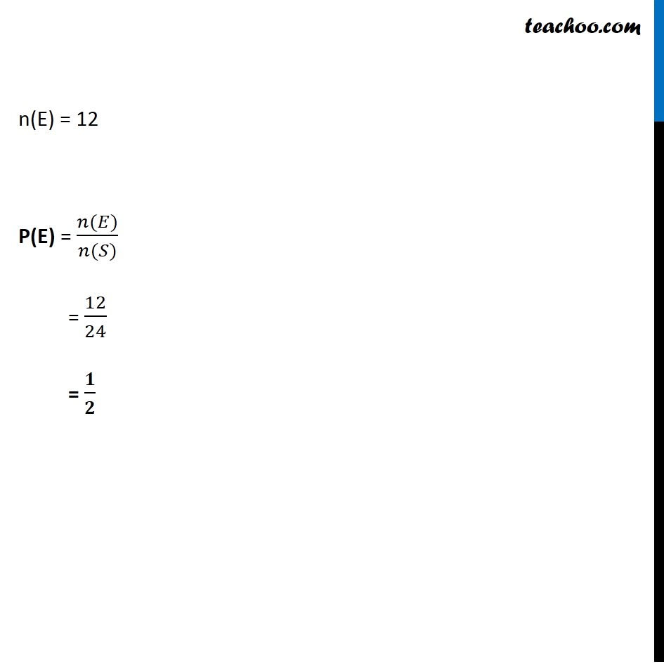 Example 14 - Chapter 16 Class 11 Probability - Part 2