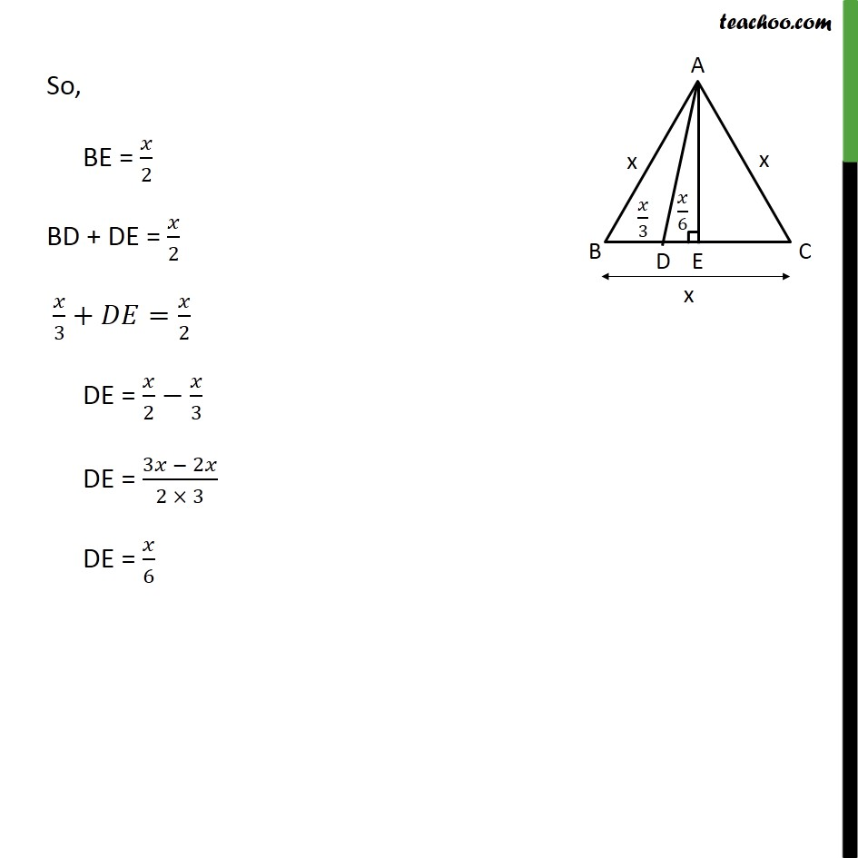 Ex 6.5, 15 - Chapter 6 Class 10 Triangles - Part 3