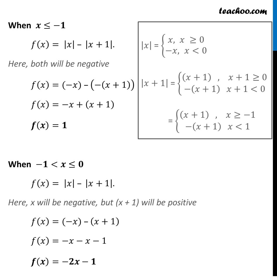 Ex 5.1, 34 - Chapter 5 Class 12 Continuity and Differentiability - Part 2