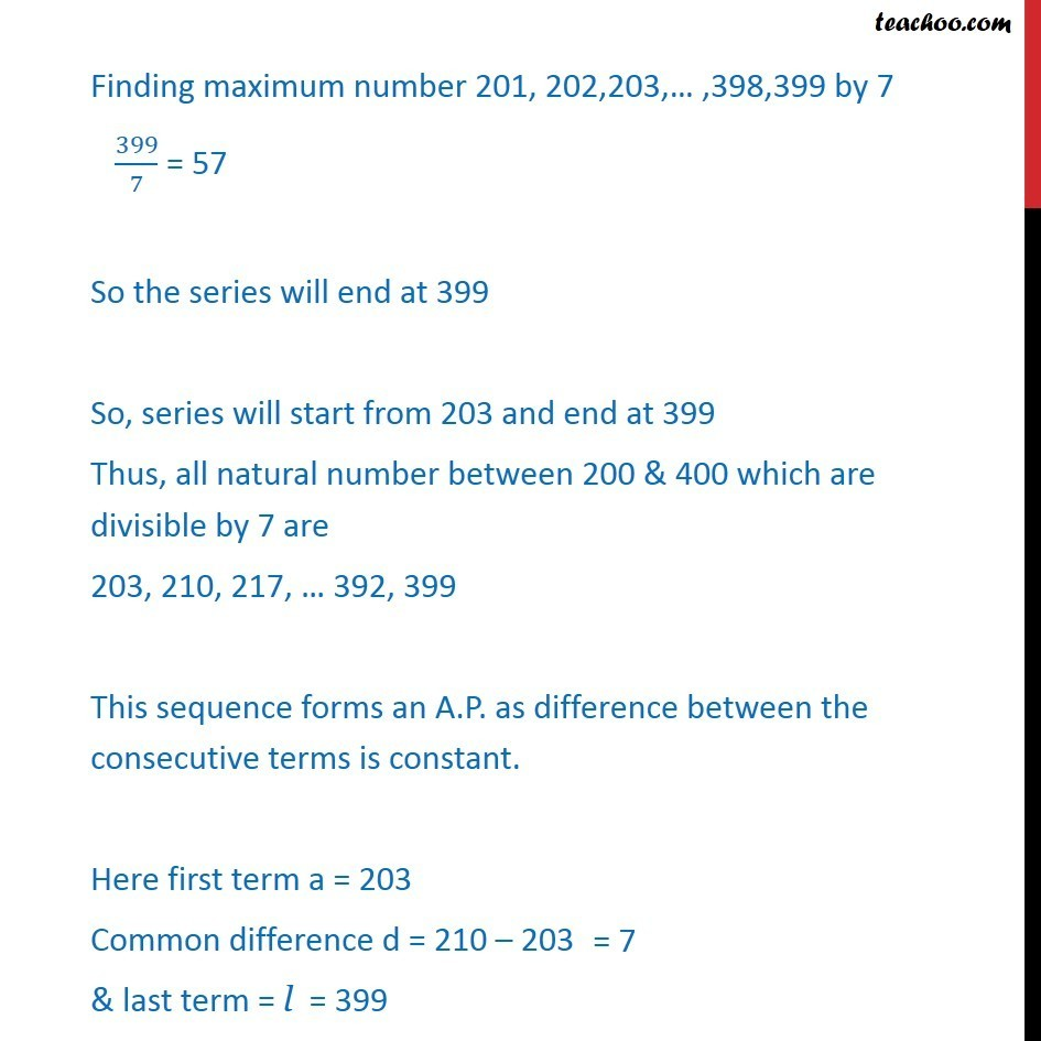 Misc 4 - Chapter 9 Class 11 Sequences and Series - Part 2