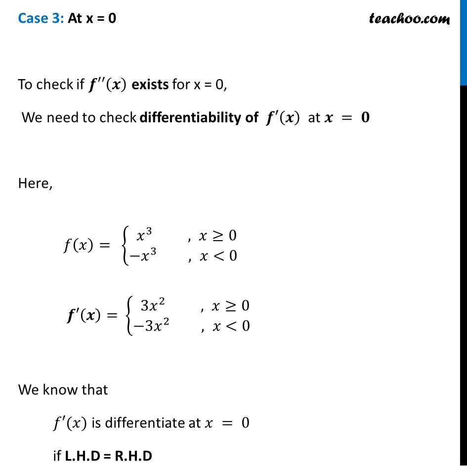Misc 18 - Chapter 5 Class 12 Continuity and Differentiability - Part 4