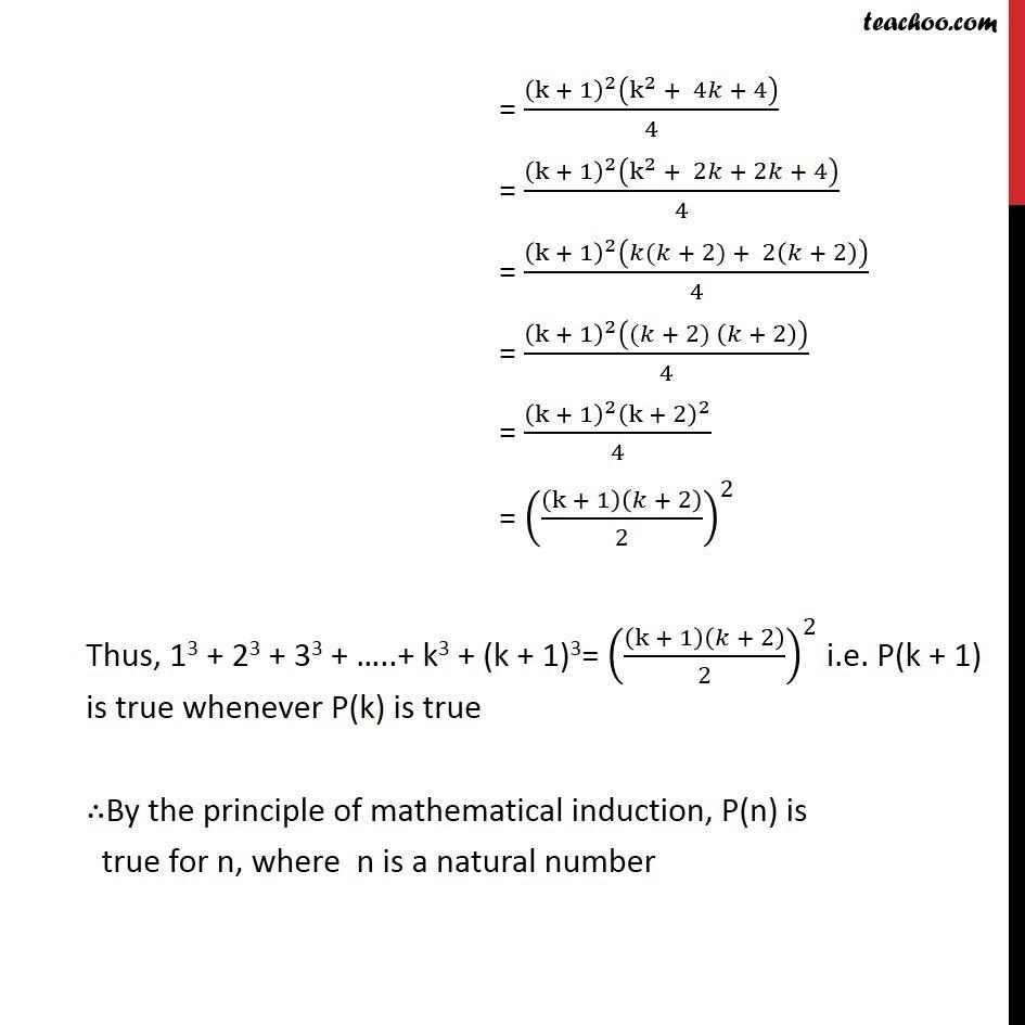 Ex 4.1, 2 - Chapter 4 Class 11 Mathematical Induction - Part 3