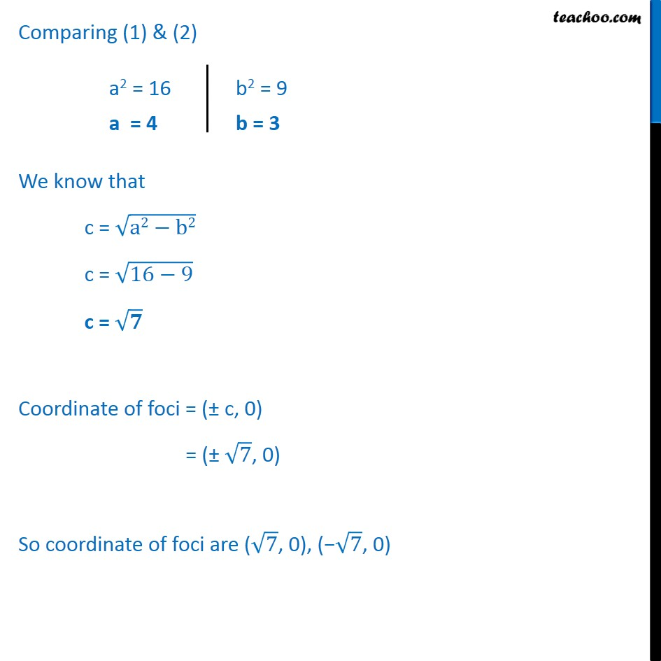 Ex 11.3,  3 - Chapter 11 Class 11 Conic Sections - Part 2