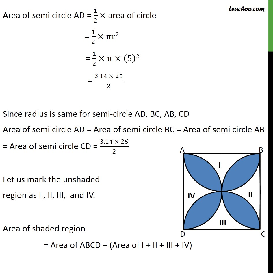 Example 6 - Chapter 12 Class 10 Areas related to Circles - Part 2