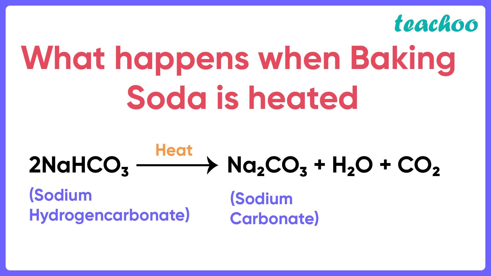 What happens when Baking Soda is heated - Teachoo-01.jpg