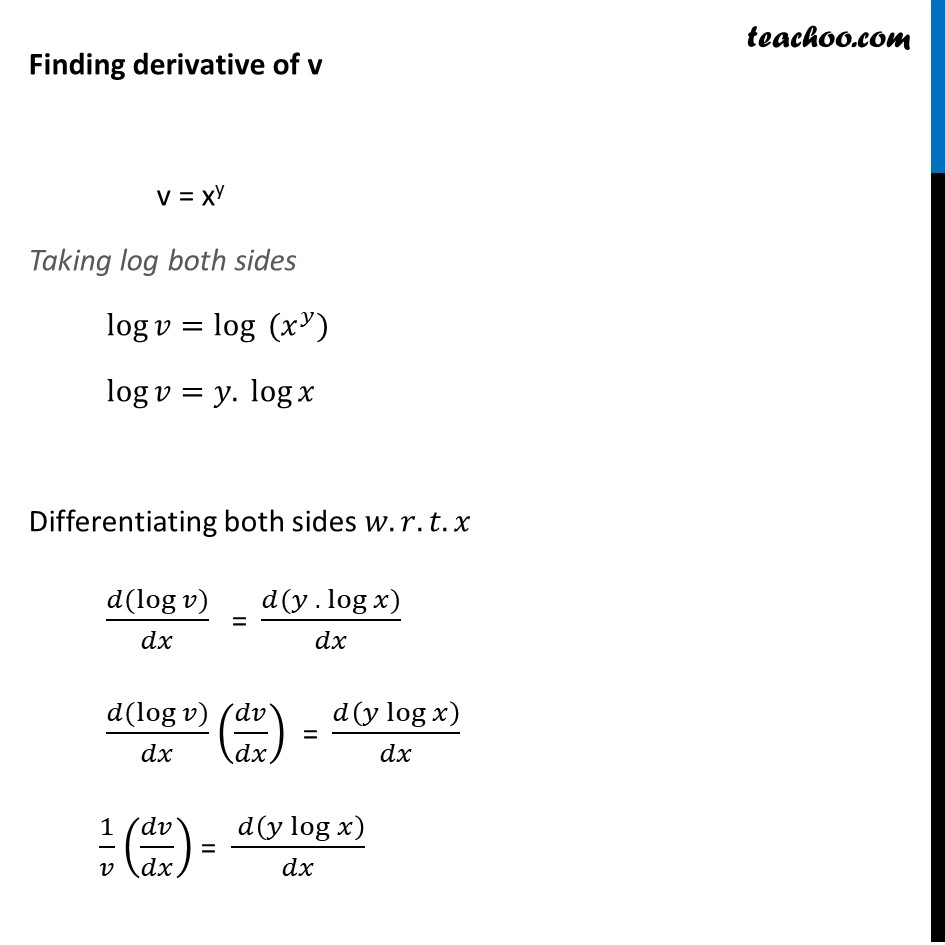 Example 33 - Chapter 5 Class 12 Continuity and Differentiability - Part 4