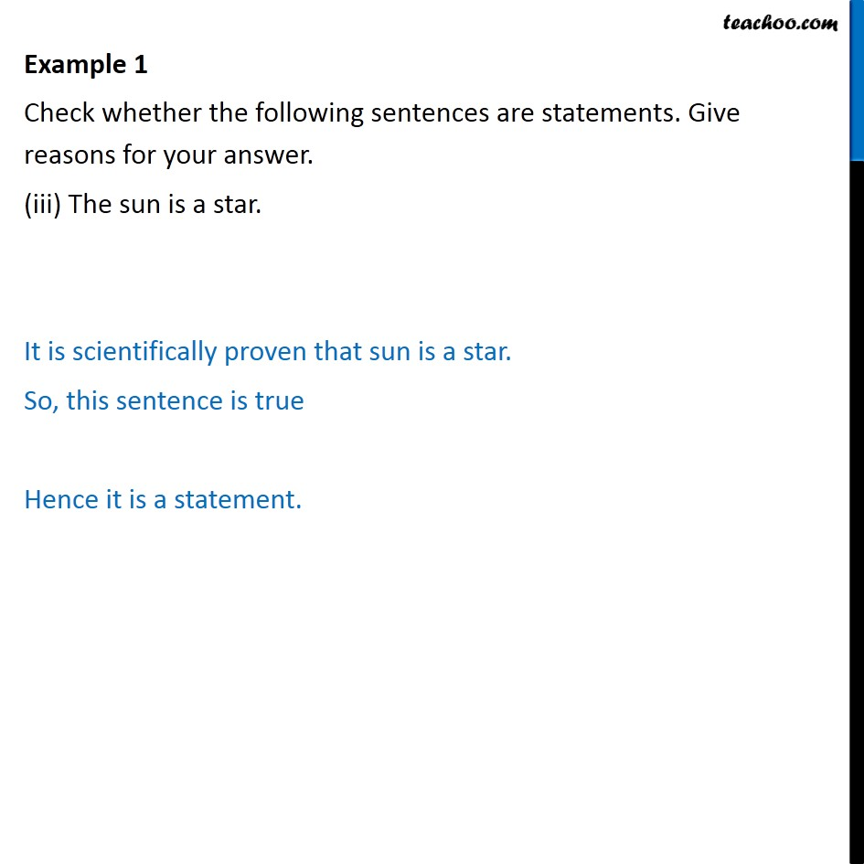 Example 1 - Chapter 14 Class 11 Mathematical Reasoning - Part 3