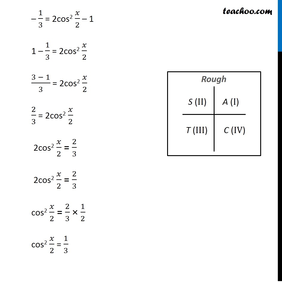 Misc 9 - Chapter 3 Class 11 Trigonometric Functions - Part 3